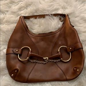 Gucci brown purse